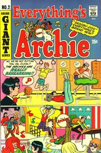 Cover Thumbnail for Everything's Archie (Archie, 1969 series) #2