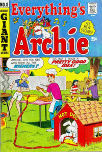 Cover Thumbnail for Everything's Archie (Archie, 1969 series) #8