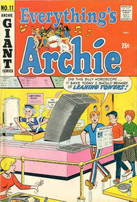 Cover Thumbnail for Everything's Archie (Archie, 1969 series) #11