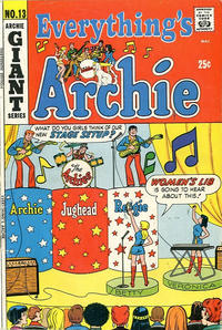 Cover Thumbnail for Everything's Archie (Archie, 1969 series) #13