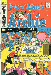 Cover Thumbnail for Everything's Archie (Archie, 1969 series) #17