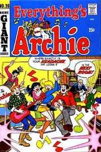 Cover Thumbnail for Everything's Archie (Archie, 1969 series) #20