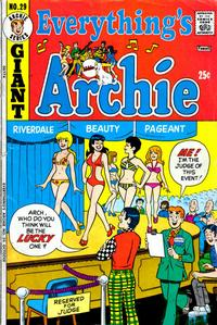 Cover Thumbnail for Everything's Archie (Archie, 1969 series) #29