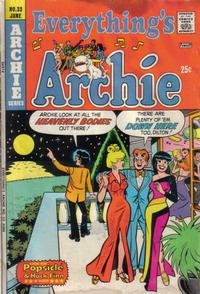Cover Thumbnail for Everything's Archie (Archie, 1969 series) #33