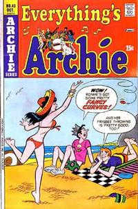 Cover Thumbnail for Everything's Archie (Archie, 1969 series) #43