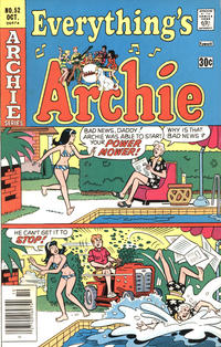 Cover Thumbnail for Everything's Archie (Archie, 1969 series) #52