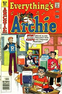 Cover Thumbnail for Everything's Archie (Archie, 1969 series) #53