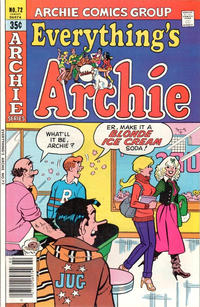 Cover Thumbnail for Everything's Archie (Archie, 1969 series) #72