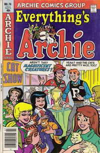 Cover Thumbnail for Everything's Archie (Archie, 1969 series) #76