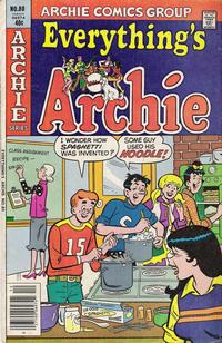 Cover Thumbnail for Everything's Archie (Archie, 1969 series) #80