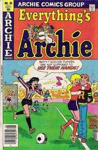 Cover Thumbnail for Everything's Archie (Archie, 1969 series) #83