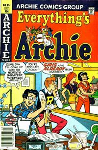 Cover Thumbnail for Everything's Archie (Archie, 1969 series) #85