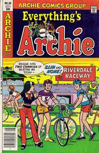 Cover Thumbnail for Everything's Archie (Archie, 1969 series) #86