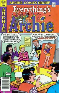 Cover Thumbnail for Everything's Archie (Archie, 1969 series) #93