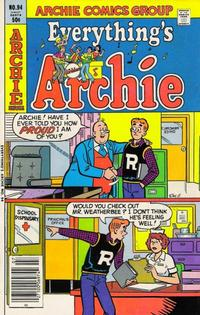 Cover Thumbnail for Everything's Archie (Archie, 1969 series) #94