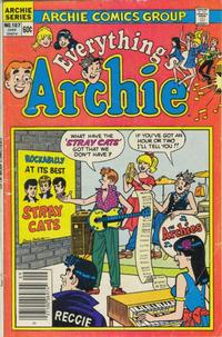 Cover for Everything's Archie (Archie, 1969 series) #107