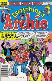 Cover Thumbnail for Everything's Archie (Archie, 1969 series) #124