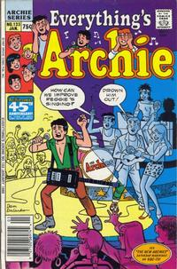 Cover Thumbnail for Everything's Archie (Archie, 1969 series) #133 [Regular Edition]