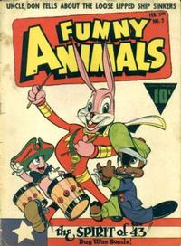 Cover Thumbnail for Fawcett's Funny Animals (Fawcett, 1942 series) #3