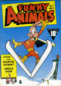 Cover Thumbnail for Fawcett's Funny Animals (Fawcett, 1942 series) #4