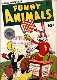Cover Thumbnail for Fawcett's Funny Animals (Fawcett, 1942 series) #9