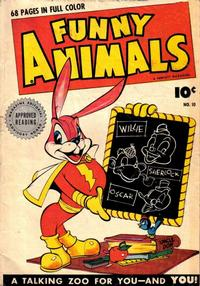 Cover Thumbnail for Fawcett's Funny Animals (Fawcett, 1942 series) #10