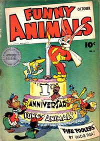 Cover Thumbnail for Fawcett's Funny Animals (Fawcett, 1942 series) #11