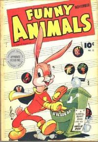 Cover Thumbnail for Fawcett's Funny Animals (Fawcett, 1942 series) #12