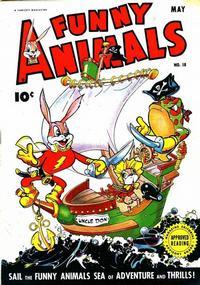 Cover Thumbnail for Fawcett's Funny Animals (Fawcett, 1942 series) #18