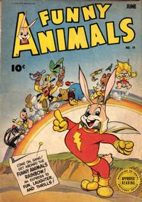 Cover Thumbnail for Fawcett's Funny Animals (Fawcett, 1942 series) #19