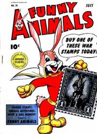 Cover for Fawcett's Funny Animals (Fawcett, 1942 series) #20