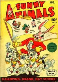 Cover Thumbnail for Fawcett's Funny Animals (Fawcett, 1942 series) #21