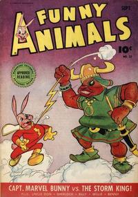 Cover Thumbnail for Fawcett's Funny Animals (Fawcett, 1942 series) #22