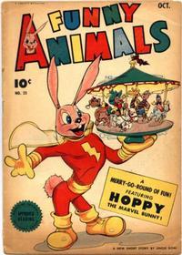 Cover for Fawcett's Funny Animals (Fawcett, 1942 series) #23
