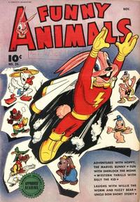 Cover for Fawcett's Funny Animals (Fawcett, 1942 series) #24