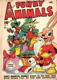 Cover Thumbnail for Fawcett's Funny Animals (Fawcett, 1942 series) #25
