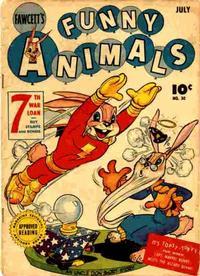 Cover Thumbnail for Fawcett's Funny Animals (Fawcett, 1942 series) #30
