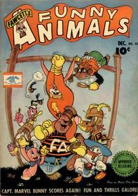 Cover Thumbnail for Fawcett's Funny Animals (Fawcett, 1942 series) #33