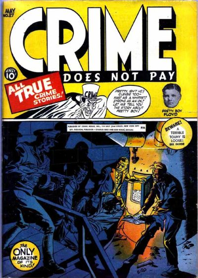 Cover for Crime Does Not Pay (Lev Gleason, 1942 series) #27