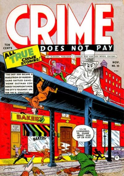 Cover for Crime Does Not Pay (Lev Gleason, 1942 series) #30