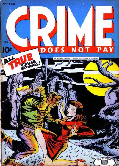 Cover for Crime Does Not Pay (Lev Gleason, 1942 series) #33