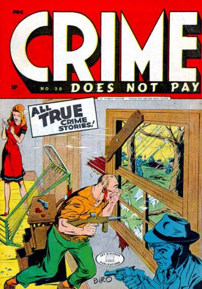 Cover for Crime Does Not Pay (Lev Gleason, 1942 series) #38