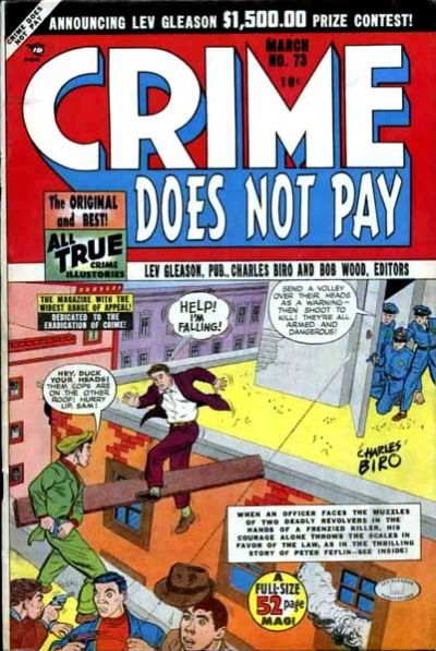 Cover for Crime Does Not Pay (Lev Gleason, 1942 series) #73