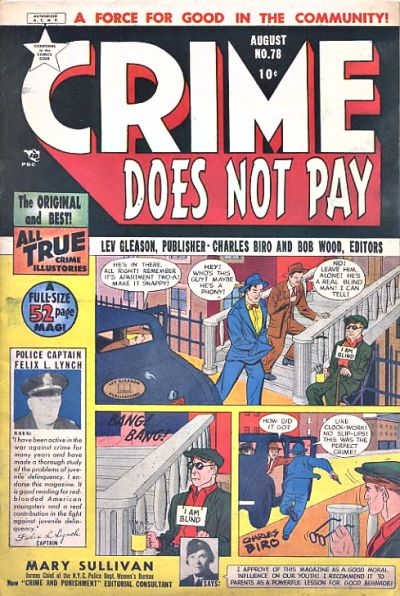 Cover for Crime Does Not Pay (Lev Gleason, 1942 series) #78