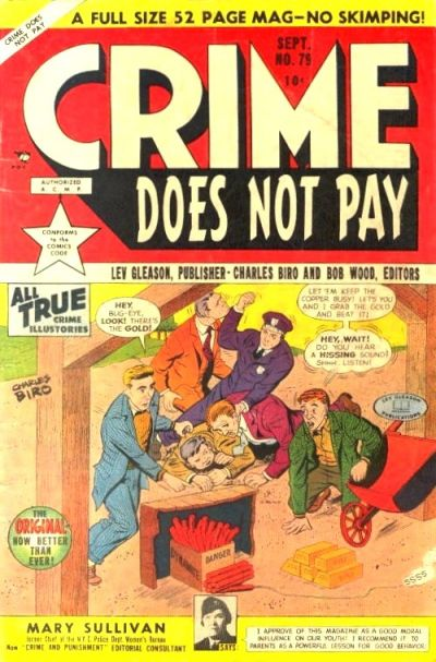 Cover for Crime Does Not Pay (Lev Gleason, 1942 series) #79