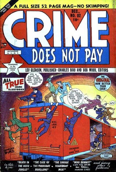 Cover for Crime Does Not Pay (Lev Gleason, 1942 series) #82