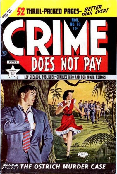 Cover for Crime Does Not Pay (Lev Gleason, 1942 series) #93