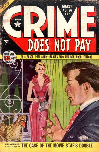 Cover for Crime Does Not Pay (Lev Gleason, 1942 series) #96