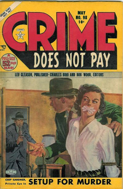 Cover for Crime Does Not Pay (Lev Gleason, 1942 series) #98