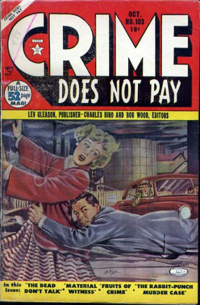 Cover for Crime Does Not Pay (Lev Gleason, 1942 series) #103
